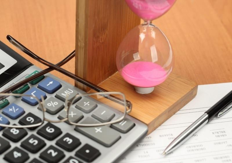 Калькулятор, очки и часы
